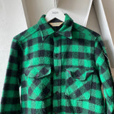 80's LL Bean Check Flannel - Large