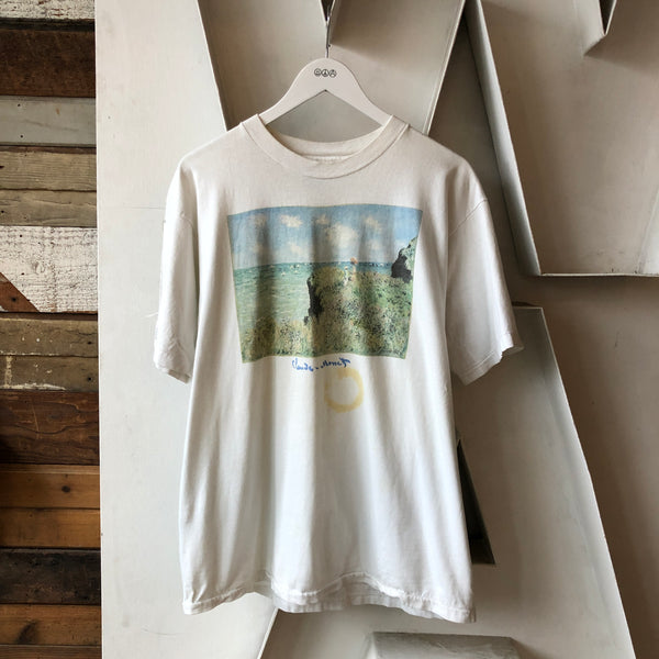 90's Monet Art Tee - XL