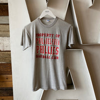 70's Blue Bar Phillies Tee - small
