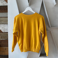 60s Yellow Sweatshirt - Medium/Large