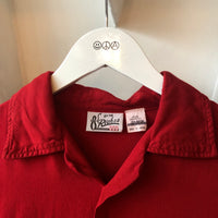 70's Alaska Rayon Bowling Shirt - Medium