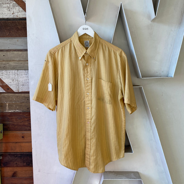 70's Arrow Button-Up Shirt - XL