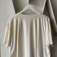 80's Paper Thin White Blank - XL
