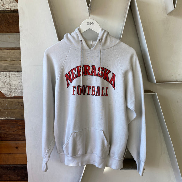 80's Nebraska Football Hoodie - Large