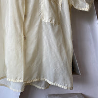 50's DuPont Sheer Button Down - Large