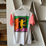 80's Keith Haring Come On Out Tee - Large
