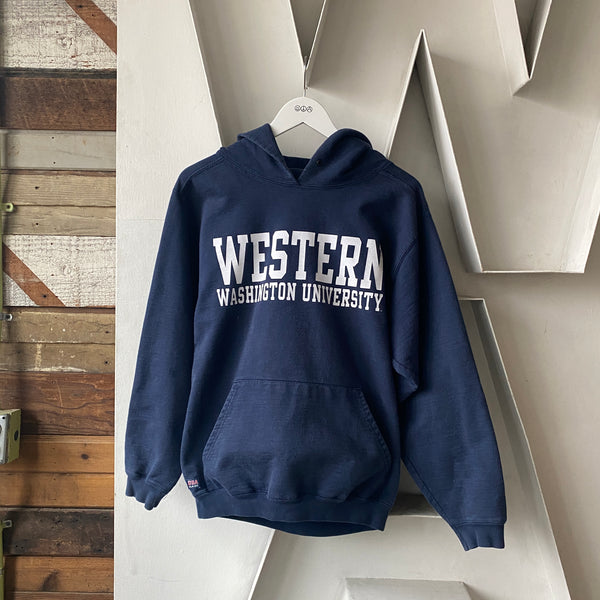 90's Western Washington Hoodie - Small