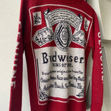 80's Budweiser Sweater - Small