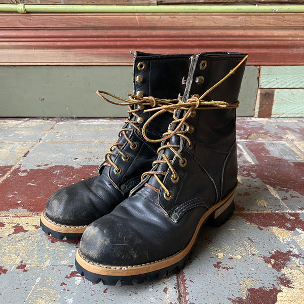 Georgia Leather Logger Boots - W's 7.5