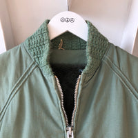 60's Long Bomber Jacket - Large