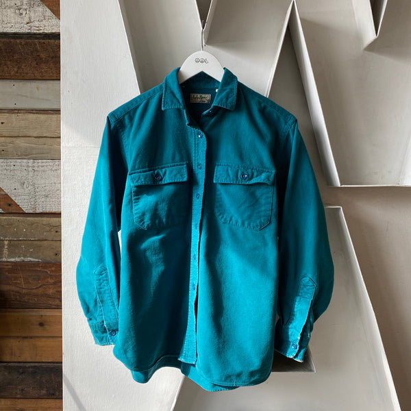 80's LL Bean Chamois Shirt - W's Small