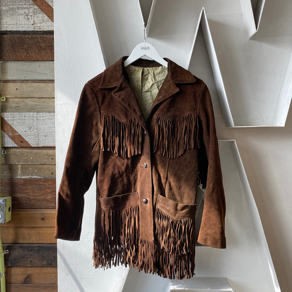 70's Fringe Jacket - Small