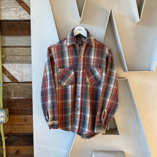 90's Big Mac Cotton Flannel - Small