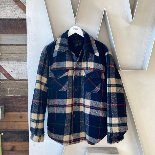 80's Blue Flannel - Large