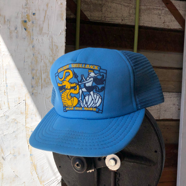 80's Golden Shellback Trucker - OS