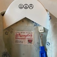 80's Wrangler Snapper Shirt - Medium