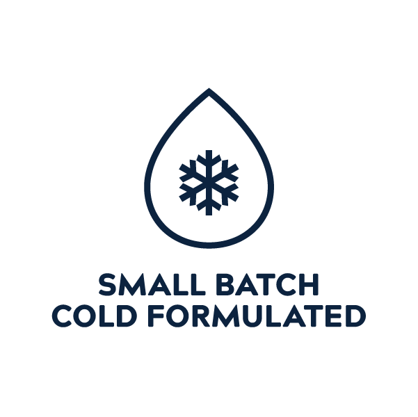Small Batch Cold Formulated