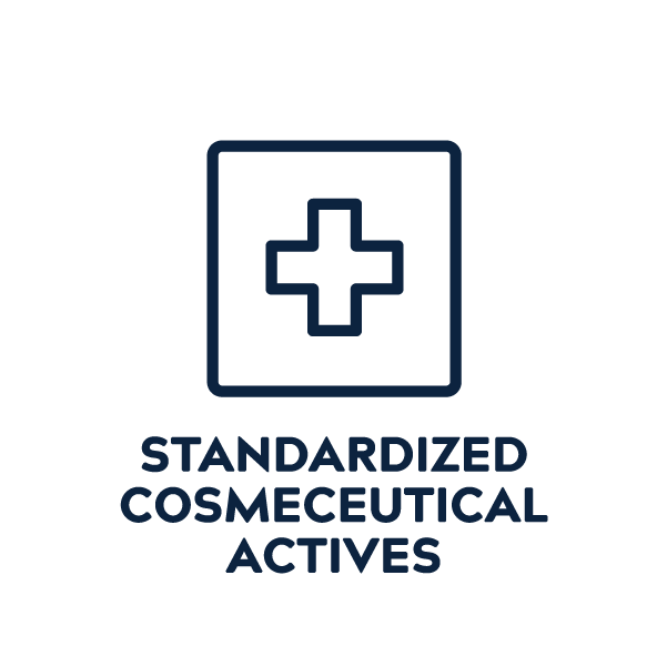 Standardized Cosmeceutical Actives