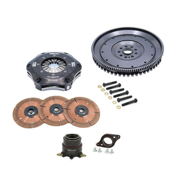 56-815 Tilton Porsche 996/997 GT3 Three Disc Racing Assembly
