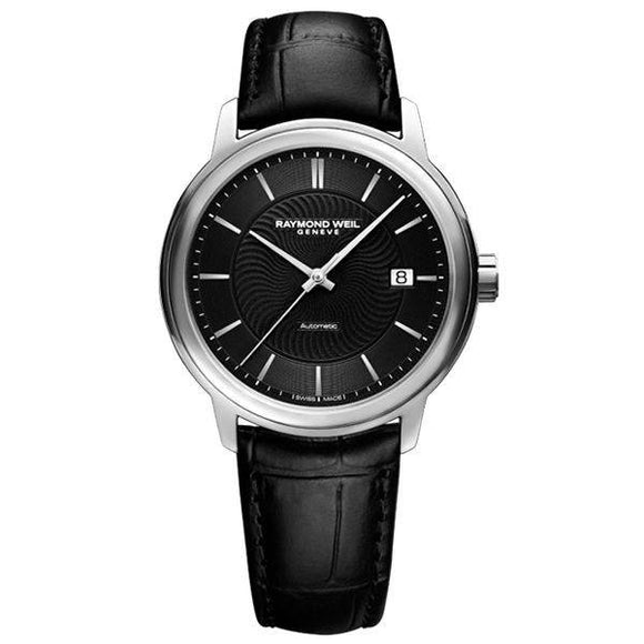 RAYMOND WEIL Maestro Automatic Black Dial Men's Watch 2237-STC-20001