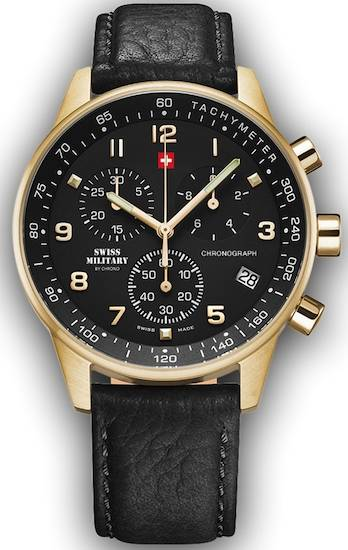 Swiss Military By Chrono Men's Stainless Steel Watch - 34012.10