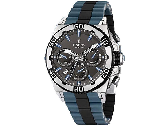 Festina Men's Chrono Bike Stainless Steel F16659/C