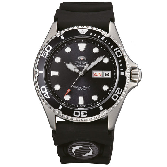Orient Orient Ray II Diver FAA02007B9 Black Rubber Band Men's Watch