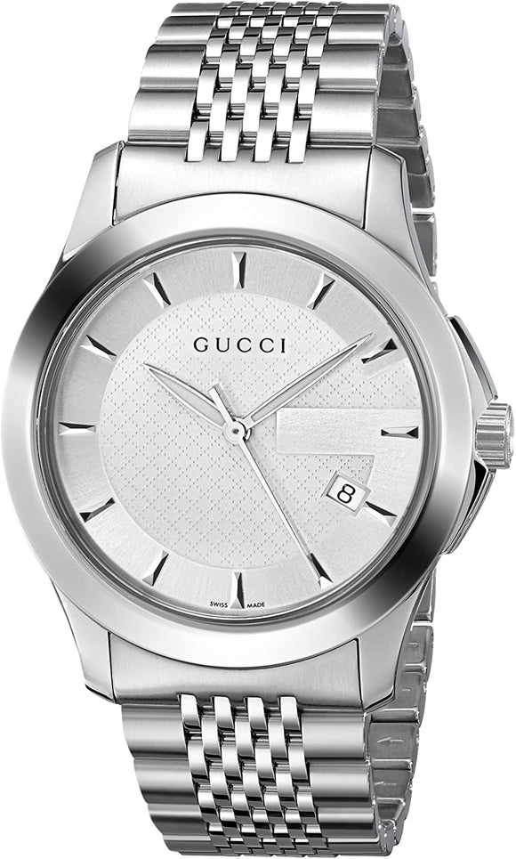 G Timeless Stainless Steel Bracelet Unisex Watch 38mm YA126401