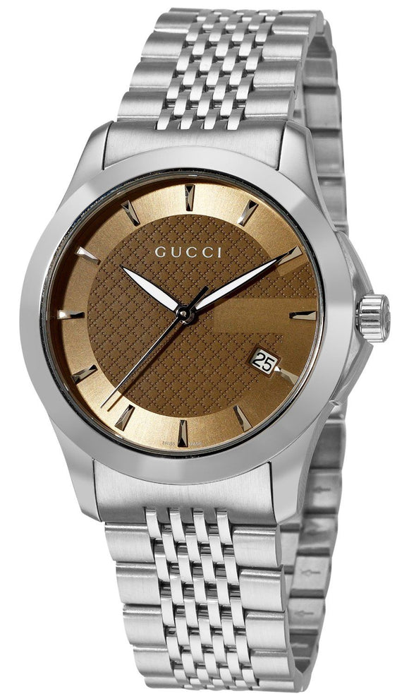 Ladies Gucci G-Timeless Watch 27mm YA126503