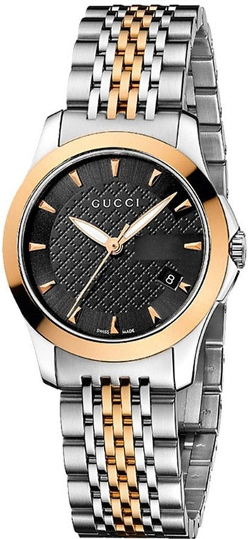 GUCCI G-TIMELESS BI-COLOUR LADIES WATCH 27mm YA126512