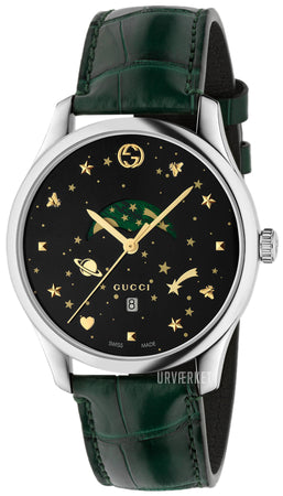Mens Gucci G-Timeless 40mm Moonphase Watch YA126326