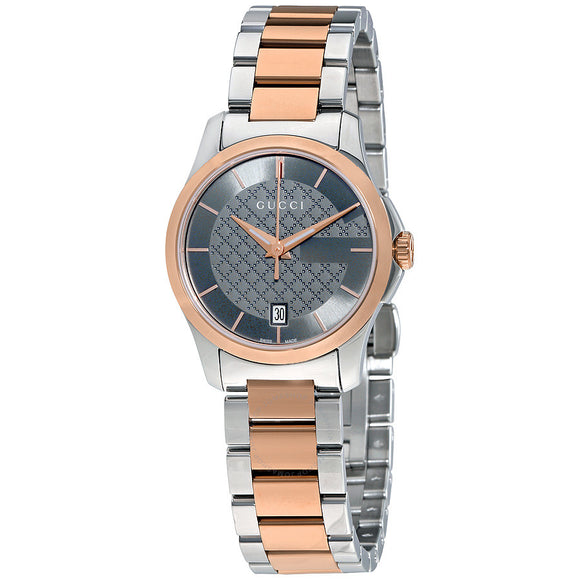 "GUCCI  ""G-TIMELESS"" LADIES ROSE GOLD WATCH YA126527"