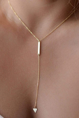 Sheinnow Metal Long Necklaces For Women