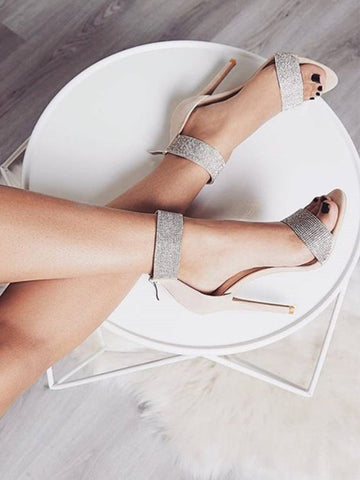 Diamond Stiletto Heels