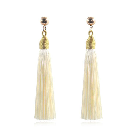 Sheinnow New Tassel Earrings Vintage Fashion Earrings Jewelry