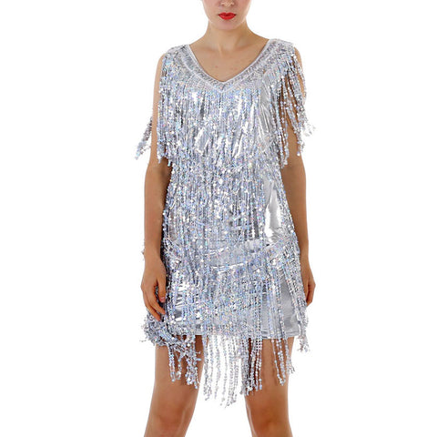 Women's Fashion Sequin Performance Costume