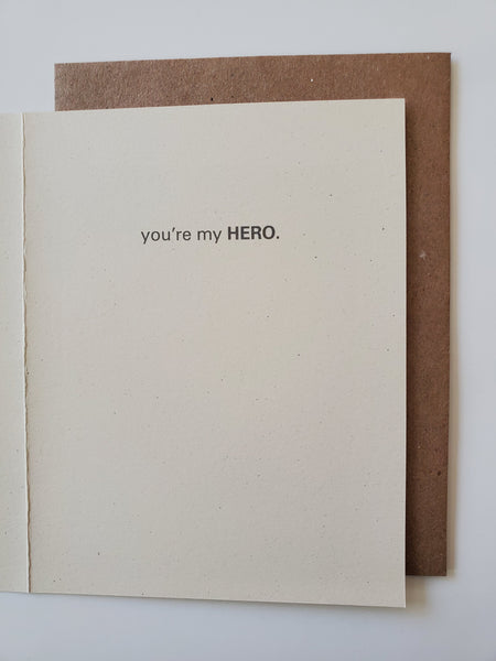 thanks - hero