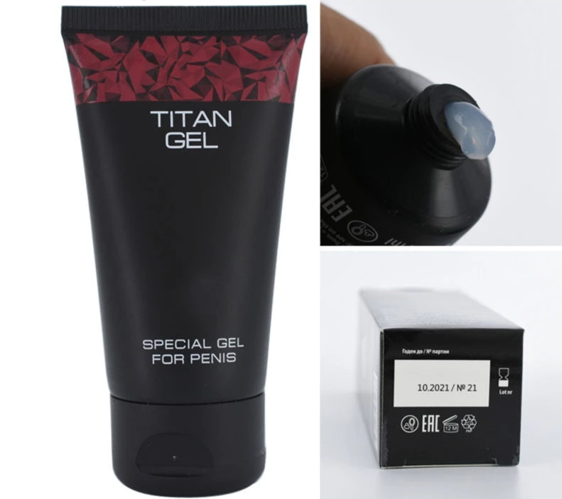 TITAN GEL 50 ml.