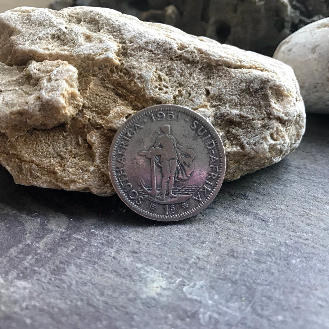 Silver South African Shilling - Made to Order - Shwen Design Uk