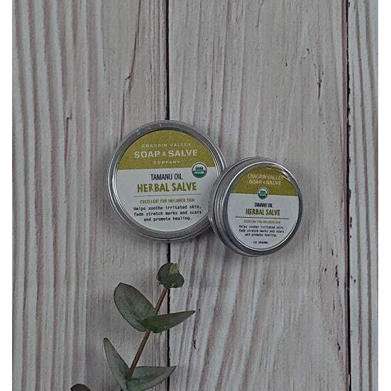 Chagrin Valley Soap & Salve Company: Natural Herbal Balm For Skin Renewal