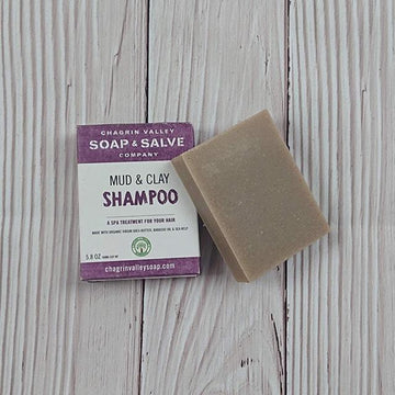 Chagrin Valley Soap: Natural Ayurvedic Shampoo Bar For Hair