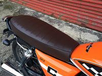 Ace Scrambler Seat in Brown