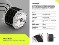 IPM, 3 Phase AC, Radial Flux Motor 39NM - 13KW
