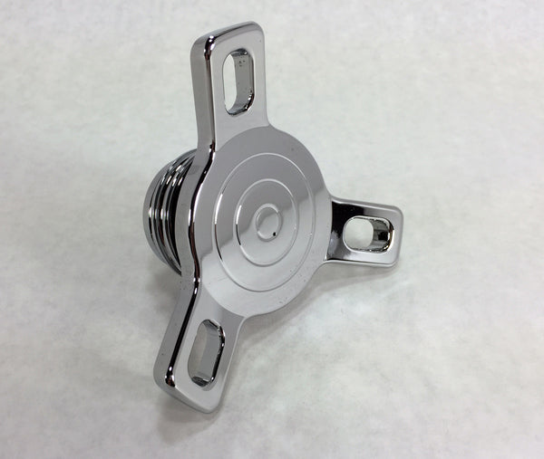 Chrome Spinner Style Gas Cap