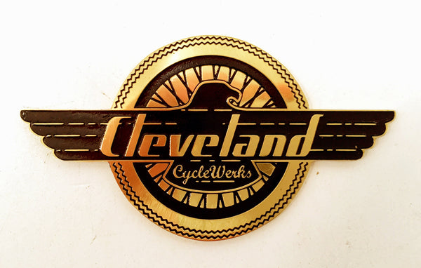 Cleveland CycleWerks Brass Badge