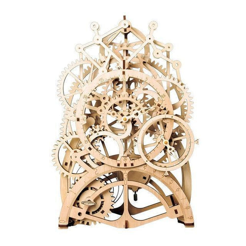 Beiby Bamboo 3D Building Kits Pendulum clock DIY 3D Mechanical Model Building Kit (Pendulum Clock)
