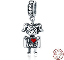 Load image into Gallery viewer, Beiby Bamboo accessories Father and Me Charm