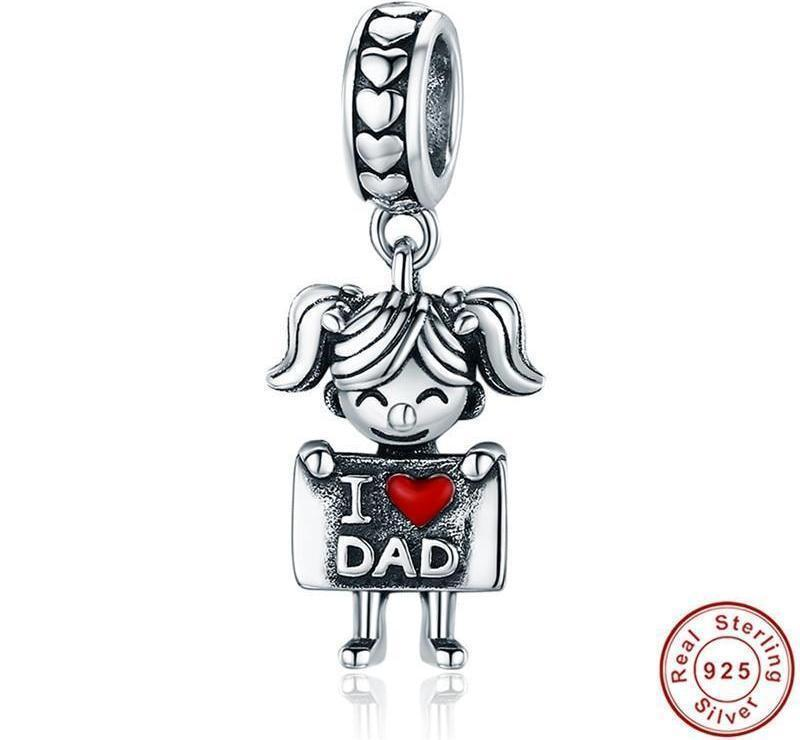 Beiby Bamboo accessories Father and Me Charm