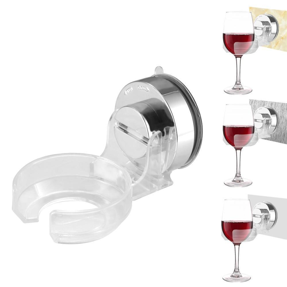 Beiby Bamboo accessories Wine Holder For Shower