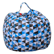 Load image into Gallery viewer, Beiby Bamboo bean bag Diameter  260CM / Triangles Stuffed Animal Storage Bean Bag
